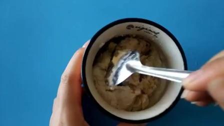 创意手工教程:自制美味香蕉冰淇淋,无需冷冻,5分钟就能吃