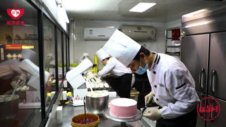 西点师教您:美味可口的DIY皇冠定制蛋糕制作方法