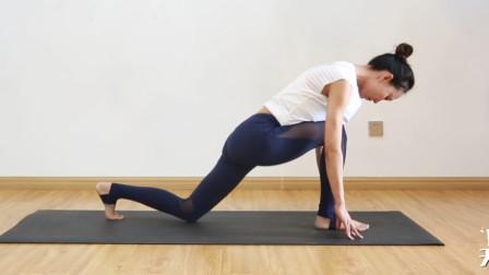每天练低位弓步有什么好处?拉伸大腿,预防妇科疾病