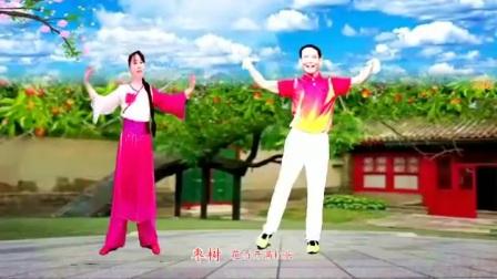广场舞《红枣树》优美动听的歌曲,歌美舞美