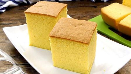 日式棉花海绵蛋糕-柔软如绵, 不收缩做法 - 家庭厨房
