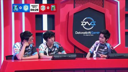 2019 CRL亚洲赛区 S3 第一周第一场 Game With VS Detonation gaming