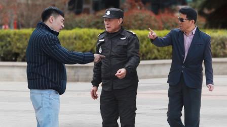 保安劝阻扔烟头遭小伙辱骂,路人:他不敢教训你,我敢