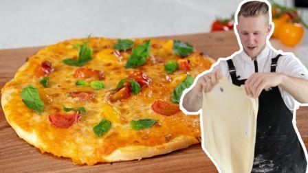如果小胡能做披萨,你也能在家做披萨!芝士想放多少放多少...