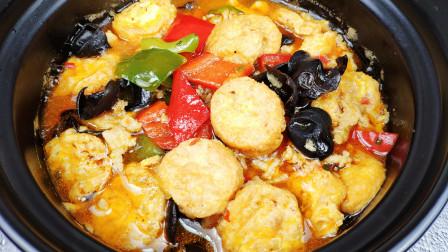 老婆下命令家庭煮夫做日本豆腐煲,结果吃到连汤汁都拌了糙米饭