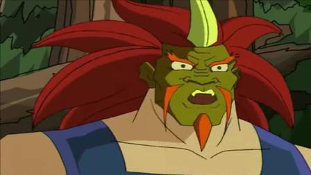 成龙历险记:魔鬼终于拿到了面具,召唤出黑暗军团,成龙接招吧