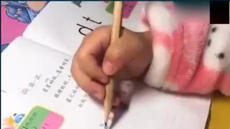 看家长教孩子做作业集合,还好都是好脾气啊。