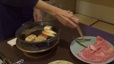 日本寿喜烧,这就是日式火锅料理,很不错呦!!