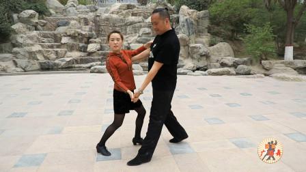 广场舞基本步《拐步》教学,专业老师多角度口令分解,清晰易懂