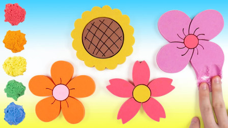 你没玩过的玩具!百变创意DIY4朵春天的太阳花,儿童手工DIY