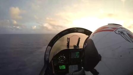 战斗机上观看风景,太壮观了,羡慕飞行员