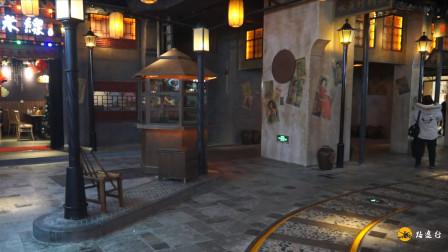 乘地铁到上海世纪大道站,发生穿越时空来到老上海,你信吗?