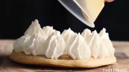 喜欢吃铜锣烧吗来看看怎样用牛奶布丁做铜锣烧