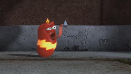 小红被闪电暴击变异闪电侠,好厉害的样子!爆笑虫子游戏