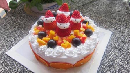 教你在家用蒸锅做生日蛋糕, 干净卫生无添加, 学会再也不用去外面买了