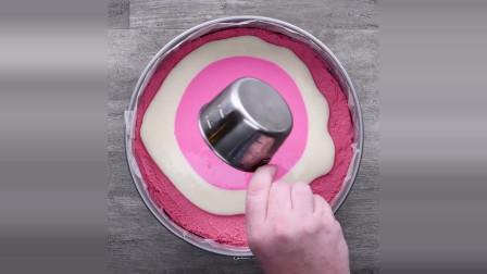 可以自己在家做的 糖果生日蛋糕