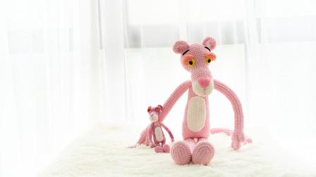 [282]巧织馆-粉红豹玩偶怎么织毛线编织法07月13日更新