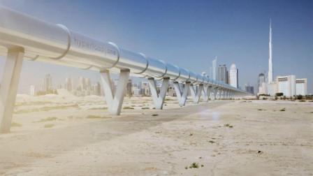 """中国""""第一高铁""""名号不保?迪拜修建超级高铁,速度超中国4倍!"""