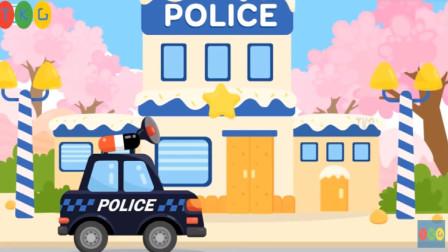 棉花糖的包包被抢了,是时候呼叫警车了!游戏