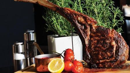 津味园每天教你做美食: 战斧牛排