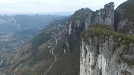 独行天涯海角024 , 骑摩托走遍中国,航拍四渡河大桥,然后来到恩施大峡谷