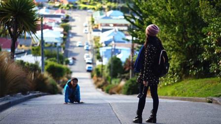 世界上最陡的马路,居民每天回家犹如爬25层楼,一不小心就滚下去