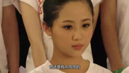 杨紫上大学前照片,脸很圆很肉比普通人好看太多,就是不白不洋气