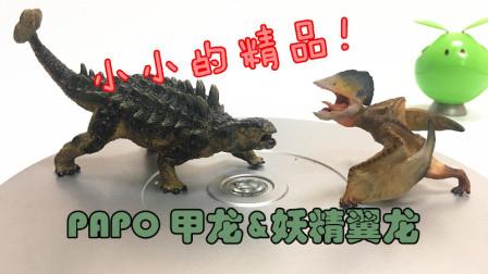 初丁分享089小小的精品二人组PAPO甲龙妖精翼龙