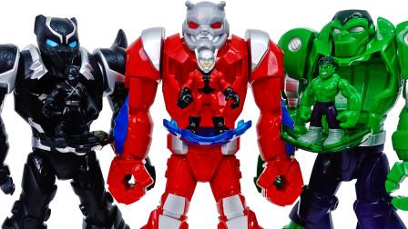 保护我们的操场,去蚂蚁人机械盔甲~!【玩具商店】