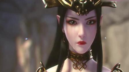 斗破苍穹:看着心爱的妹妹死去,泪流满面的美杜莎女王让人心疼!