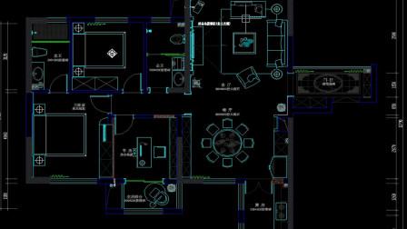 「室内设计」一套标准CAD施工图的起点是什么?在于正确的画好平面图!