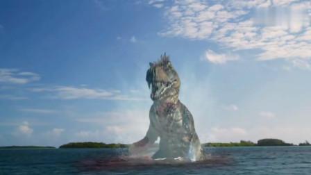 美女大战狂暴恐龙,险象环生,美国军方动用最新战机