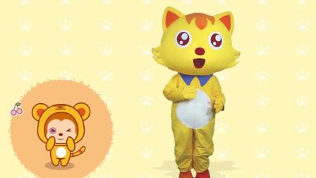 猫小帅儿歌 儿童舞蹈《两只老虎》