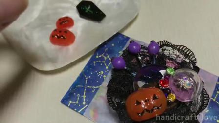 自己动手制作,万圣节南瓜灯,可以根据自己的喜好设计!