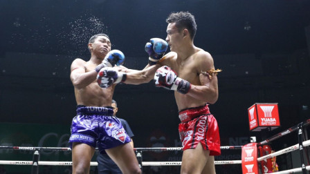 先输后赢!中国小将泰国擂台血拼对手!