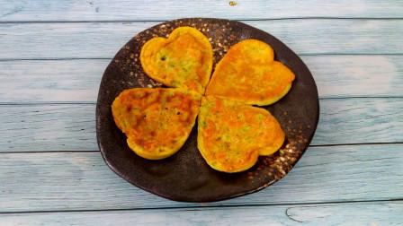 教您一道简单易学易做的早餐饼的做法,苦瓜火腿鸡蛋饼