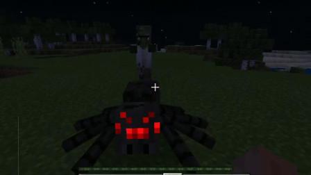 我的世界:一把木槌挑战僵尸大军,会怎么样呢?