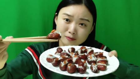 """创意美食,营养滋补""""养胃红枣盒"""",美味香甜,女生超喜欢"""