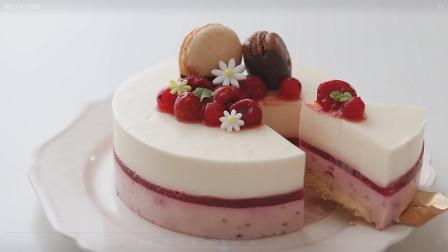 毛球小厨房:酸甜不腻口的覆盆子芝士蛋糕