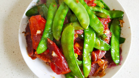 荷兰豆炒腊肠这样做才够香,用最好吃的做法与你分享,快收藏吧