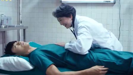 小伙做身体检查,因身材太好让医生大妈这通乱摸!气的小伙直接走人!