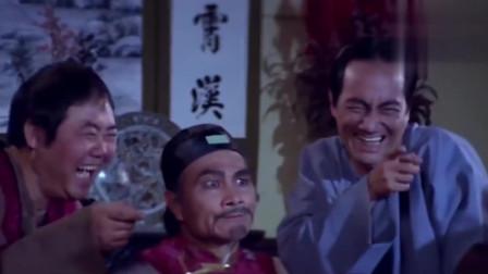香港经典电影:光头佬假扮保安队长,与同伴演戏合伙骗钱,没想到竟撞上了枪口!
