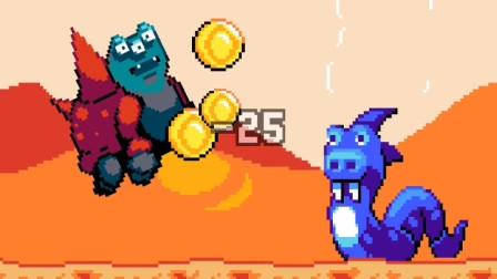香蕉人闯入荒野星,龙羊怪、鹿角蜂!妖精组合游戏