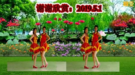 石头朝霞广场舞花开等你来做客  喜迎五一劳动节