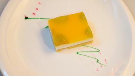 橙子酸奶慕斯蛋糕,在家也能轻松制作,酸甜滑嫩,奶香浓郁