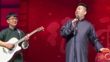 张鹤伦北展演唱《声声慢》,吉他小哥也很棒