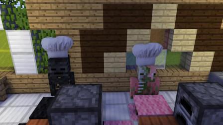 我的世界动画-怪物学院-厨师挑战-TellBite