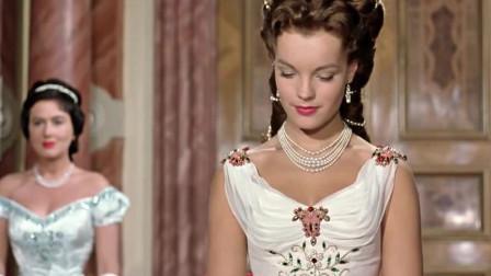 茜茜公主精心打扮参加舞会!一出场太美艳了,男人都被迷住了