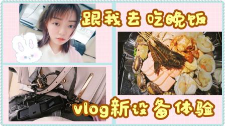 [糖果]跟我一起去吃饭-Vlog神器入手