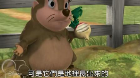 小熊维尼:天怎么还是黑的,傻维尼呀,你的头上有蜂蜜罐